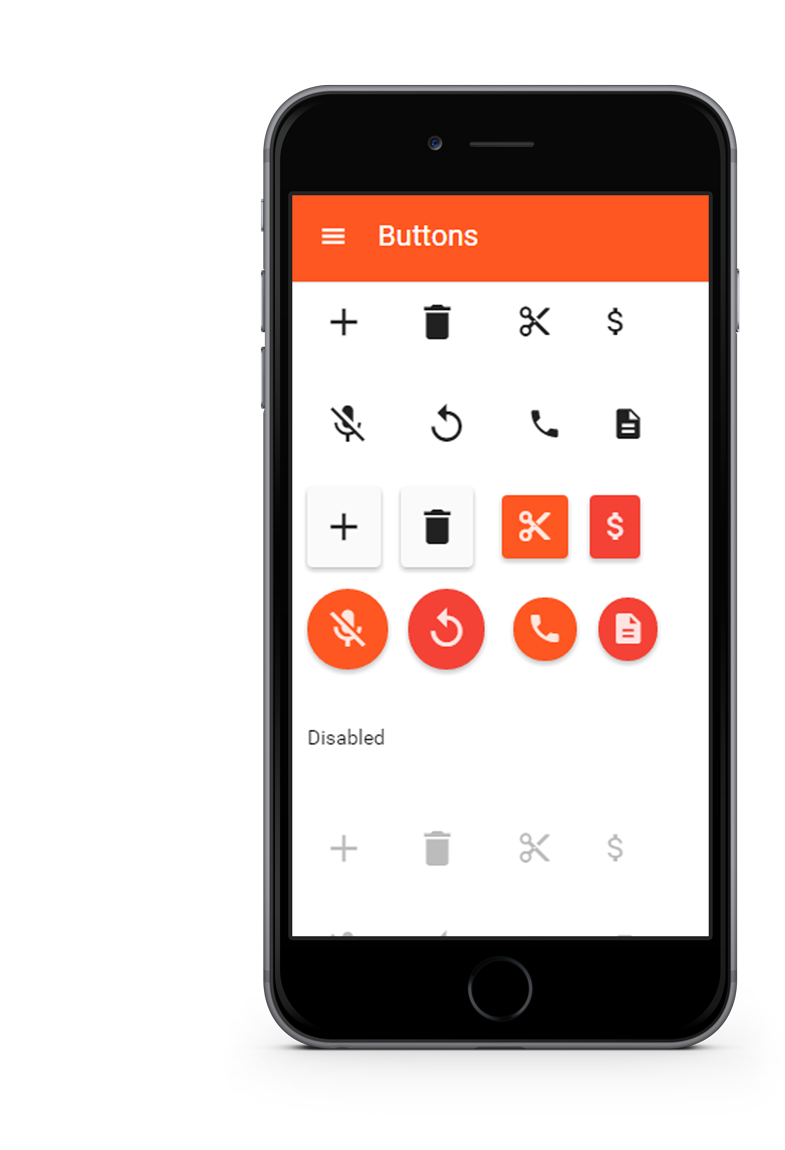 Nativedroid2 material design theme for jquery mobile are you looking for the holo version voltagebd Images