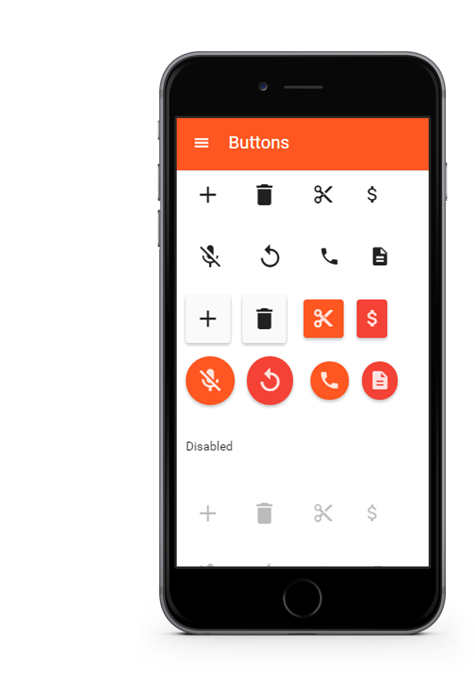 nativeDroid2 - material design theme for jQuery Mobile